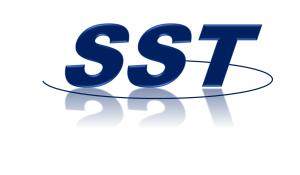 SST Logo DB White
